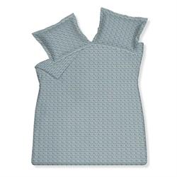 荷蘭品牌 Vandyck 全棉印花加大尺碼床品套裝 - 藍色